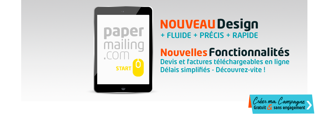 nouvelle version papermailing